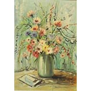 European School, 20th Century    Floral Still Life