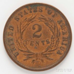 1872 Two Cents