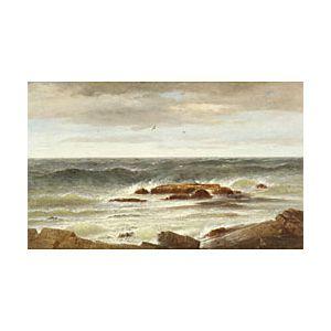 Robert Swain Gifford (American, 1840-1905)  Isles of Shoals, The Coast of New Hampshire