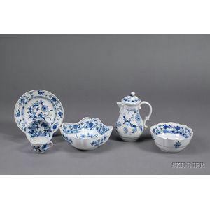 Assembled Meissen Blue Onion Pattern Service