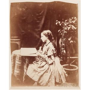 Oscar Gustave Rejlander (British, 1813-1875)      Isabel Somers-Cocks (Later Lady Henry Somerset)