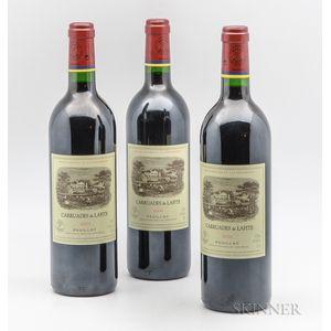 Carruades de Lafite 2002, 3 bottles