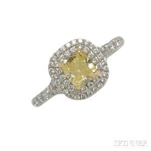 Colored Diamond Solitaire, Tiffany & Co.