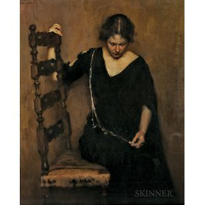 Gertrude Fiske (American, 1879-1961)      A Brown Study