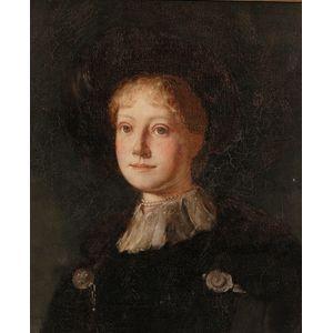 Ernest Francisco Fenollosa (American, 1853-1908)      Portrait of Susan Shattuck Cabot (Mrs. Arthur Tracy)