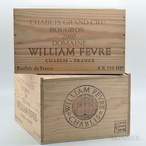 Fevre Chablis Bougros 2005, 12 bottles (2 x owc)