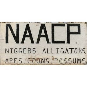 NAACP Sign