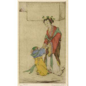 Elyse Ashe Lord (British, 1900-1971)  Chinese