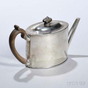 George III Sterling Silver Teapot