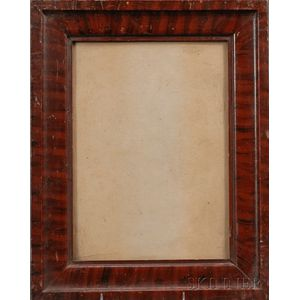 Molded Grain-painted Wood Frame