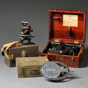 Three Surveying Instruments