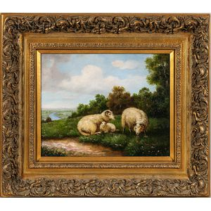 Sam Hunt (British, 20th Century)      Sheep at Rest