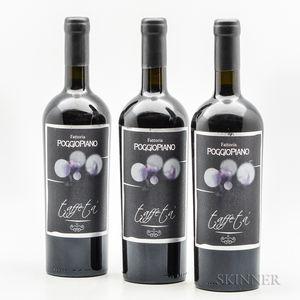 Poggio Piano Taffe Ta 2008, 3 bottles