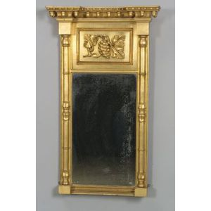 Classical Gilt Gesso Carved Mirror