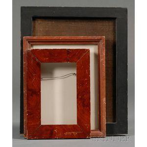 Three Painted Wood Frames