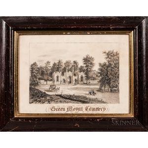 American School, Late 19th Century      Green Mount Cemetery