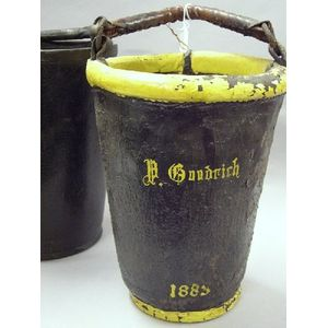 Two Leather Fire Buckets