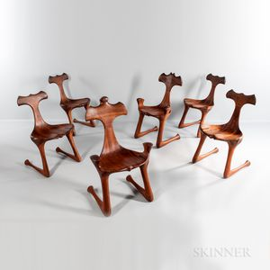 Hunter Studios King, Queen, and Four Side Chairs