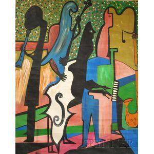 Ronald Von Ehmsen (American, d. 1963)      Jazz.