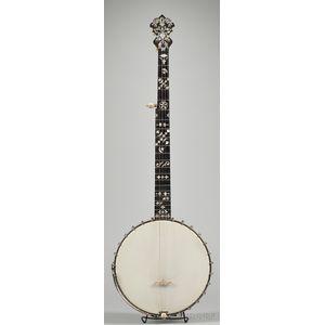 American Five-String Banjo, S.S. Stewart, Philadelphia, c. 1898