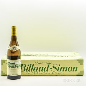 Billaud Simon Les Clos 2013, 6 bottles (oc)