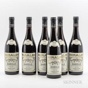 Rinaldi Barolo Tre Tine 2011, 6 bottles