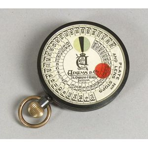 Adams & Co. Watch-Form Exposure Meter