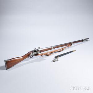 Pedersoli Reproduction U.S. Model 1816 Musket and Bayonet