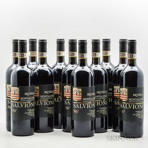 Salvioni Brunello di Montalcino Cerbaiola 2007, 11 bottles