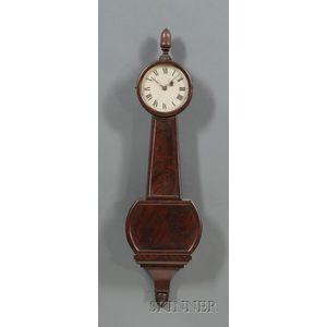 "Federal Mahogany Patent Timepiece or ""Banjo"" Clock"