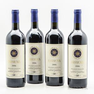 Tenuta San Guido Sassicaia 2006, 4 bottles