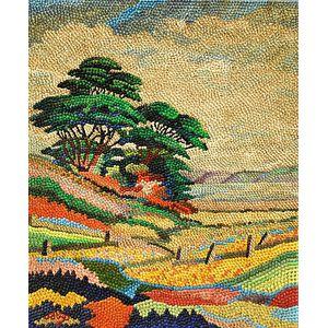 Abraham M. Atlas (American, 1894-1963)      Colorful Landscape