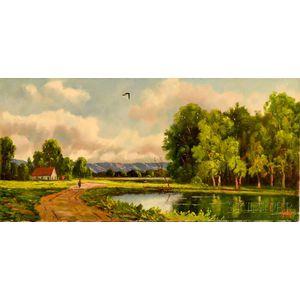 Alexander Nelke (American, 1894-1974)    Landscape View