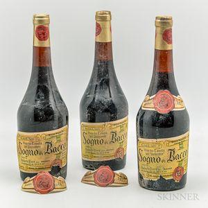 Umberto Fiore Gattinara Sogno di Bacco Gran Riserva 1973, 3 bottles
