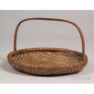Woven Splint Gathering Basket