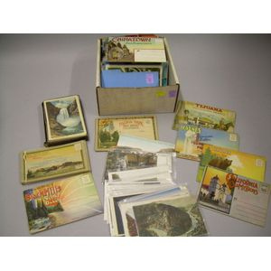 Collection of Western United States Postcards