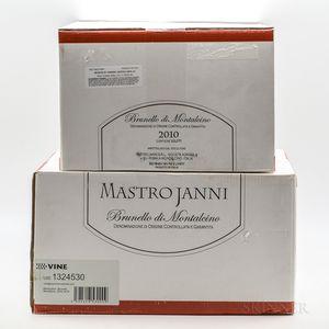 Mastrojanni Brunello di Montalcino 2010, 12 bottles (2 x oc)