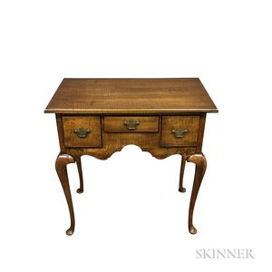 Queen Anne-style Tiger Maple Dressing Chest