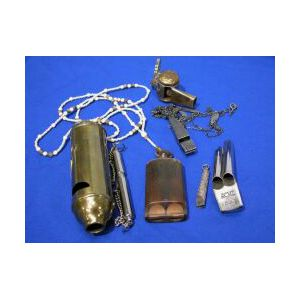 Silver and Niello Whistle and Six Others.