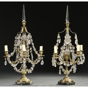Pair of Neoclassical-style Candelabra