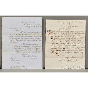 Civil War Documents.
