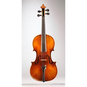 American Violin, Carlton F. Stanley, Newton, 1927