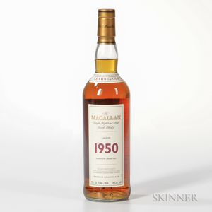 Macallan Fine & Rare 52 Years Old 1950, 1 750ml bottle