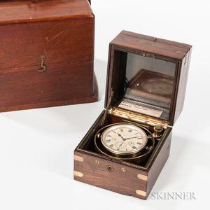 Waltham Eight-day Deck Chronometer