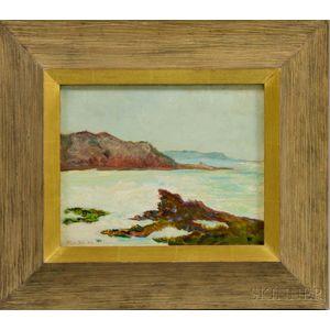 Will Hicok Low (American, 1853-1932)      Pointe du Corbeau, Locquirec, Bretagne