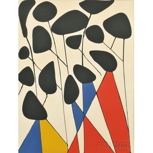 Alexander Calder (American, 1898-1976)      Untitled
