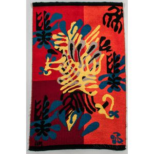 Henri Matisse (French, 1869-1954) Designed Mimosa Tapestry