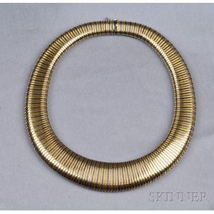 14kt Bicolor Gold Necklace