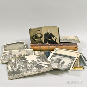 Group of Late 19th and Early 20th Century Photography.     Estimate $50-75