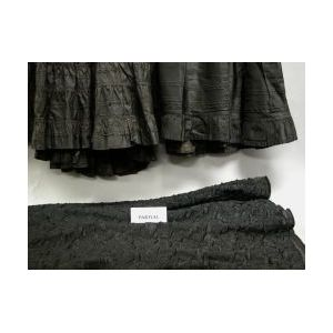 Nine Victorian Assorted Black Petticoats, Skirts and a Blouse.
